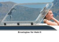 Heki 2 vetro di ricambio della cappa del tetto senza accessori