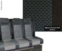 Sovesæde VWT6 V3000 Gr.8 stiv 3-seter møbel Simora T6 2-farve varme