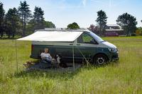 <p>Bus Sonnendach Charly &amp; Charlyne</p> B255xT240 cm
