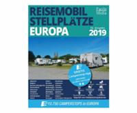 Motorhome pitches for 27 European countries