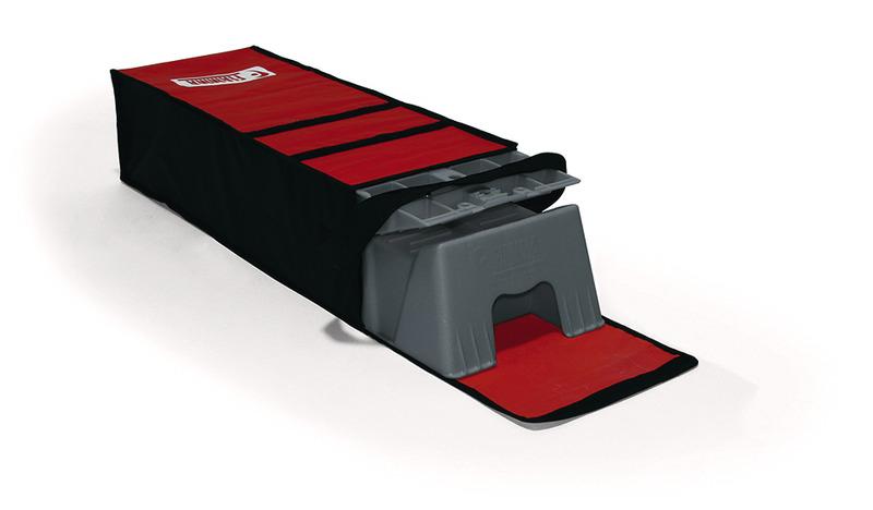 Step wedges Fiamma Kit Level Up Jumbo grå med taske