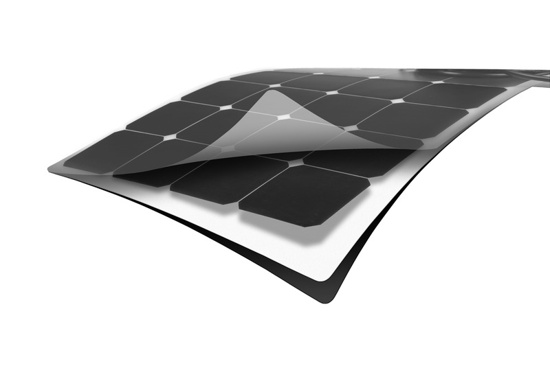 Solarset »Power Panel Flex 80« von Carbest 12V/80W, weiß