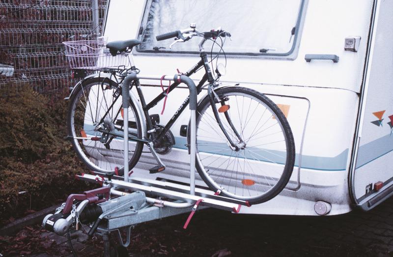 Caravan trækbærer Polo til 2 hjul