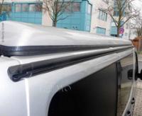 Multirail Regenrinne Zeltbefestigungsschiene Renault Trafic >2015 links