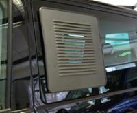 T5 / 6 ventilationsgitter f.sliding vindue til højre