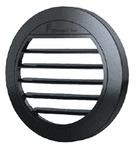 Ausströmer flach 30° für Standheizung Airtronic D2, Ø50/60mm, schwarz
