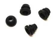Haltestopfen schwarz 4 Stück