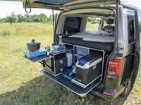 Campingbox L für VW T5,T6 KR und LR Kombi und Kastenwagen