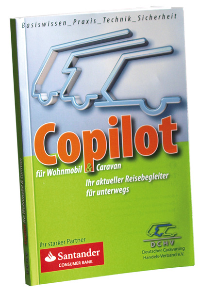 Book Copilot for Caravan and Motorhome from DCHV