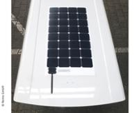 Solar Panel SD Caddy Maxi monteret