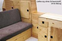 Ensemble de meuble VW T3 Jolly kit sans mousse et housse