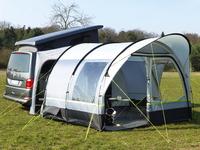 Drive away tent Tour Cap, (WxDxH) 330 x 350 x 220 cm, channel rail profile 7 mm STOCKTAKE SALE