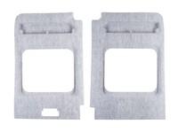 <p>Hecktürverkleidung Set 2-teilig, hellgrau, 1125x9999x99,9mm, BJ 2006</p>