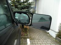 Caravan spejl til klemme til venstre og højre
