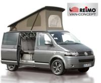 Toit relevable T5 court Easy Fit VW T6, toit relevable avant à sangles - REIMO