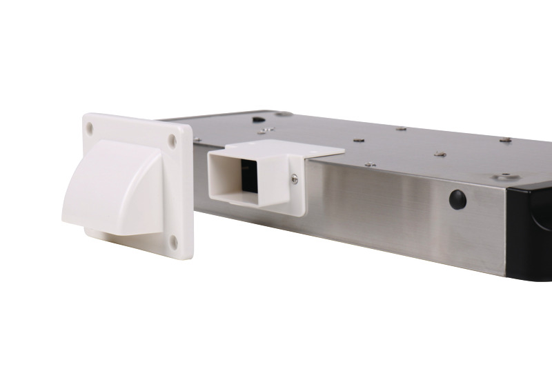 Extractor hood 460x280x50mm, silver, 12V, 98m3/h