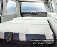Schlafsitzbank VW T6/5 CityVan V3000 Gr.14 3-sitzig,Polster Classic grau 2-fbg.