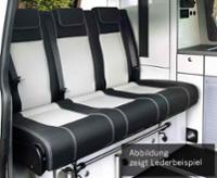 Schlafsitzbank Ford Cutom KR. V3000 Gr.8 3-sitzig Polster Leder 2-farbig