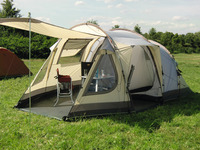 4 Man Tent, Family Tent, DAKOTA Z5 DELUXE Reimo Tent Technology