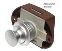 Push Lock beidseitige Betätigung silber