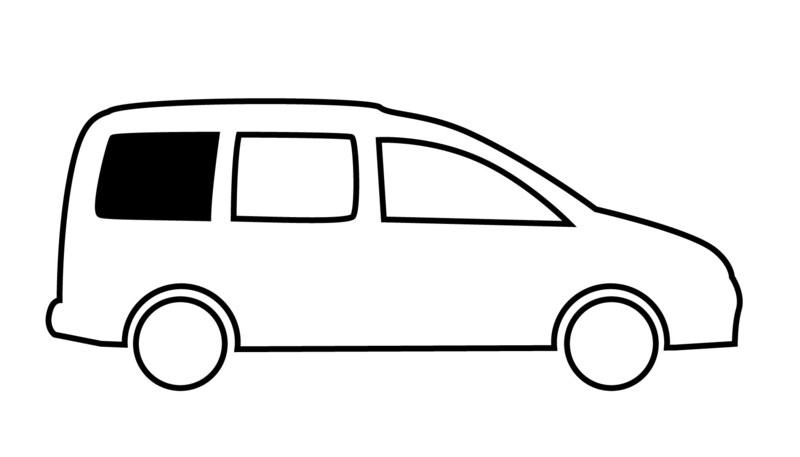 """<p> <span style = """"color: rgb (47, 53, 58);""""> Fenêtre d'installation rigide pour VW Caddy Maxi, BJ."""