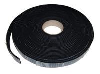 Skumgummi selvklæbende, 3 mm tykt, 20 mm bred, 10 m rulle