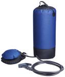 doccia da campeggio con serbatoio dell'acqua da 12 litri con pompa a p