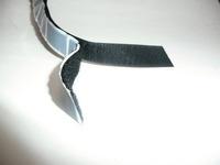 Klettband selbstkleb. 20mm schwarz 5m