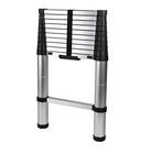 CARBEST Escali faltbare Leiter mit 11Stufen, 100Kg,CARBEST Leiter aus Aluminium