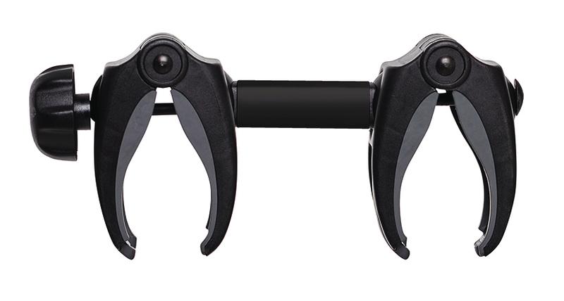 Bike Holder Abstandshalter 4 schwarz mit Schloß 18cm (für Träger G2)