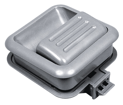 Reimo møbler håndtag (lys grå)