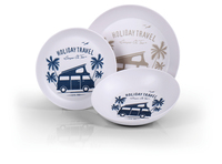 "Melamine servies ""HOLIDAY TRAVEL"" 6-delig, voor 2 personen"