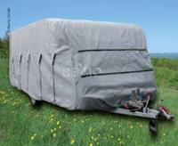 Wohnwagen Schutzhülle 640x230x220 cm, grau