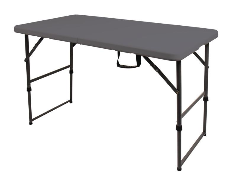 Foldbord Easy I L: 122xB: 61cm i gråt