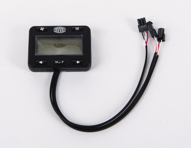 Digitales Bedienteil zu den Diesel-Standheizungen Breeze IV / Wind IV / Alfa