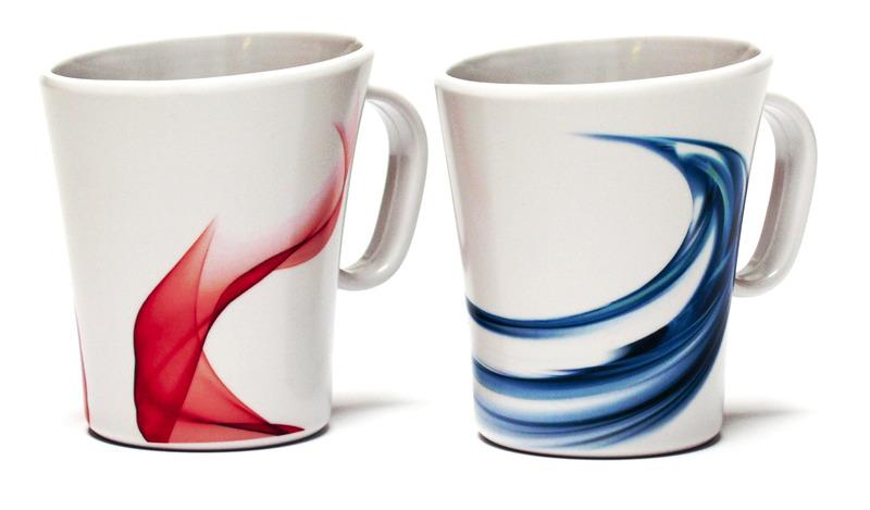 Melamin Kaffeebecher-Set 2-teilig SAVONA