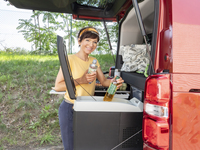 Campingbox M für VW Caddy ab Bj. 2003 und andere Minicamper und Minivans