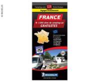 Carte des parkings Michelin parking gratuit en France
