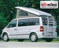 Mercedes Vito pop-up dak (tot 03) Super plat, vooraan hoog