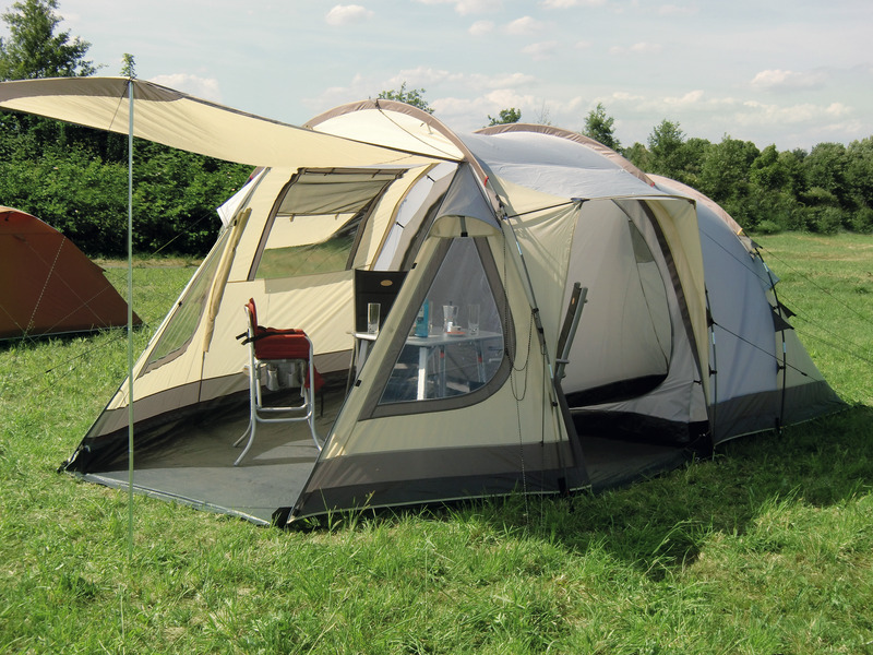 4 Man Tent, Family Tent, BREGENZ 2 Z5 Reimo Tent Technology