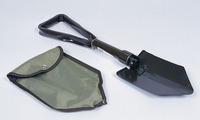 Foldning spade med sav, 2 foldbare, malede stål