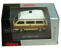 modelcar VW T3 Bus Camper, Reimo with high roof