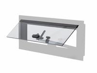 Ersatzflügel für Alu-Ausstellfenster 34432 (460x160mm)