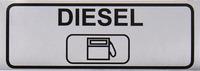 "Klistermærke ""Diesel"" B90 x H30 mm"