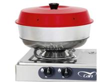 Camping-oven Omnia 3-parts