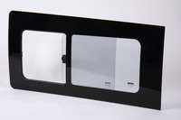 Replacement, Sliding Window - Ford Transit Custom, left, 1208x566