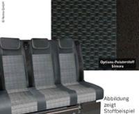 Banquette - Lit VARIOTECH 3000 pour VW T6 Trio Style, 3 places, VW T6 Simora
