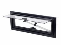 Hochdachfenster - Alu-Ausstellfenster 460 x 160 mm