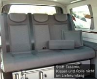 Schlafsitzbank Gr.10 VW T5 V3000 3-sitzig, Polster Tasamo T5