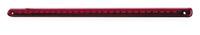 LED hjælpebremselys 28 LED, rød linse. L31 x B1,5 cm.